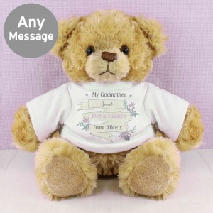 Garden Bloom T-Shirt Message Bear