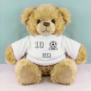 Football Fan T-Shirt Message Bear