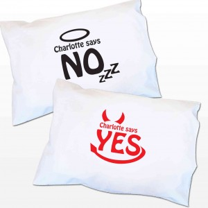 Angel/Devil Pillowcase