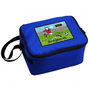 Bang on the Door Football Crazy Lunch Bag