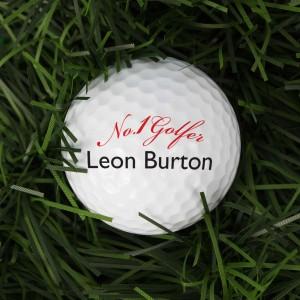 No1 Golfer Golf Ball