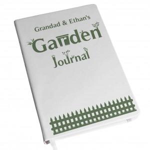 Garden Journal Hardback A5 Notebook
