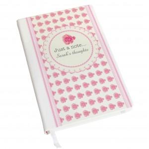 Vintage Rose Hardback A5 Notebook
