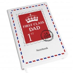1st Class Hardback A5 Notebook