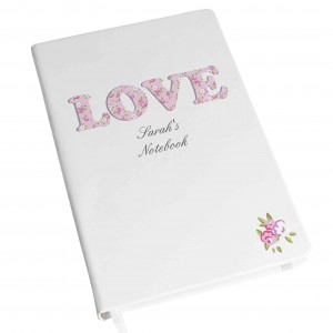 Love Hardback A5 Notebook