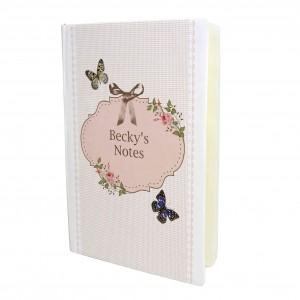 Delicate Butterfly Hardback Notebook