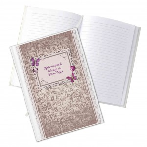 Butterfly Gem Hardback Notebook