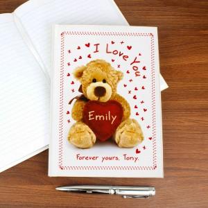 Teddy Hardback Notebook