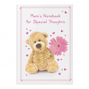 Teddy Flower Hardback Notebook