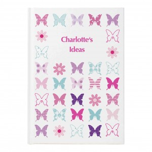 Butterfly Hardback Notebook