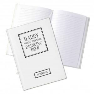 Rather Be Hardback Notebook