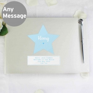Stitch & Dot Boys Guest Book