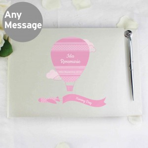 Up & Away Girls Guest Book