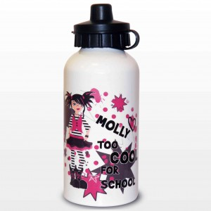 Too Cool Girl Drinks Bottle
