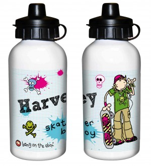 Bang on the Door Skater Boy Drinks Bottle