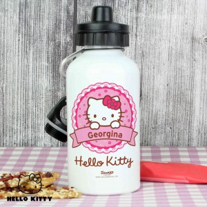 Hello Kitty Floral Drinks Bottle