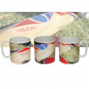 Cricket Bat Mug