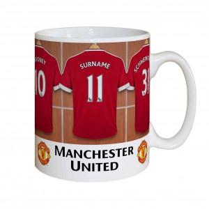 Manchester United Dressing Room Mug
