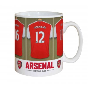 Arsenal Dressing Room Mug
