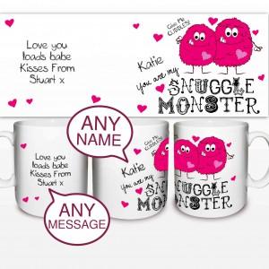 Snuggle Monster Mug