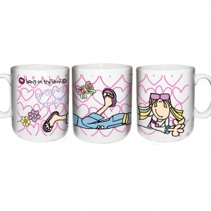 Bang on the Door Groovy Chick Mug