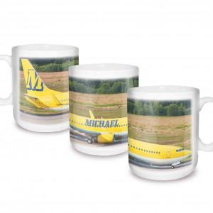 Airliner Yellow Mug