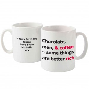 Better Rich Slogan Mug