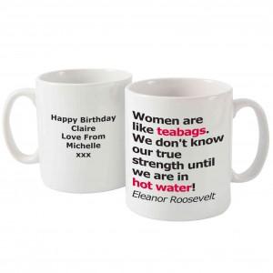 True Strength Slogan Mug