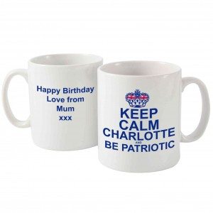 Keep Calm Be Patriotic Mug