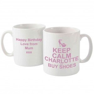 Keep Calm Buy Shoes Mug