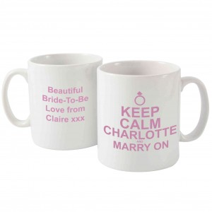 Keep Calm Marry On Mug