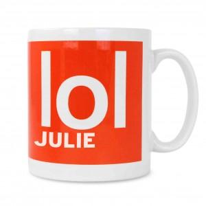 LOL Slogan Mug