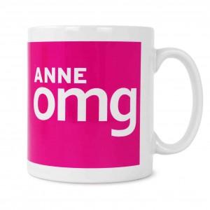 OMG Slogan Mug