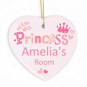 Princess Heart Decoration