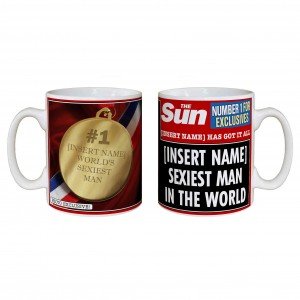 The Sun Sexiest Man Mug