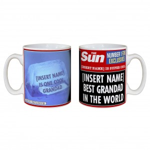 The Sun Best Grandad Mug