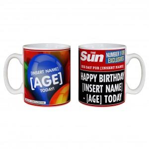 The Sun Birthday Mug