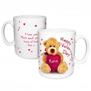 Teddy Heart Mug
