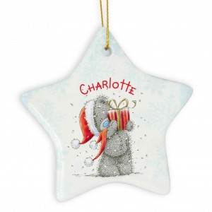Me To You Star Christmas Decoration