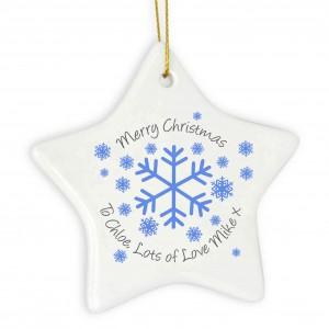 Snowflake Star Decoration