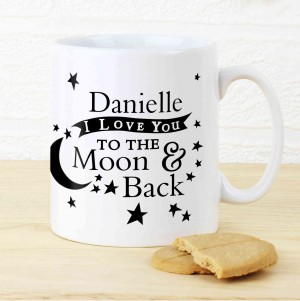 To the Moon and Back... Mug