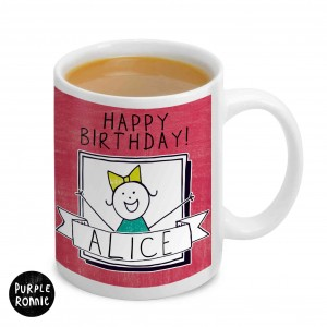 Purple Ronnie Celebration Mug For Her