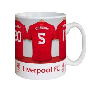 Liverpool Dressing FC Room Mug