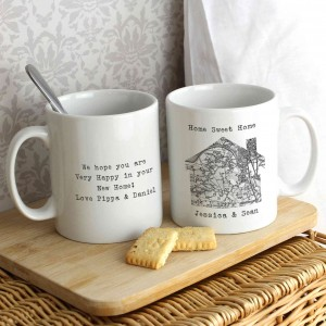 1805 - 1874 Old Series Map Home Mug