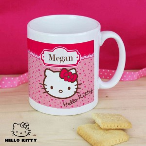 Hello Kitty Floral Mug