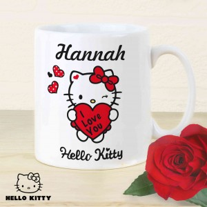 Hello Kitty I Love You Mug