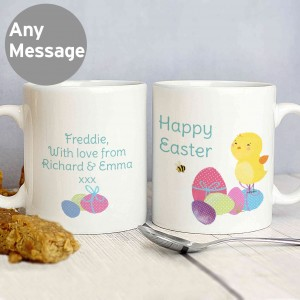 Easter Meadow Chick Mug