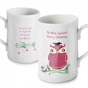 Christmas Owl Windsor Mug