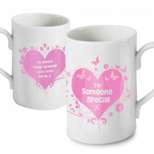 Someone Special Pink Windsor Mug