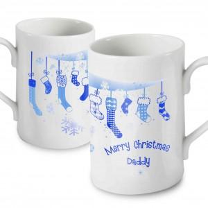 Christmas Stocking Windsor Mug